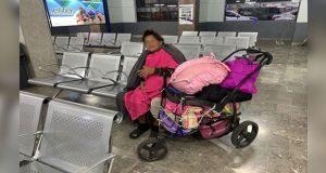 Abandona a su madre diabética en central camionera de Hermosillo