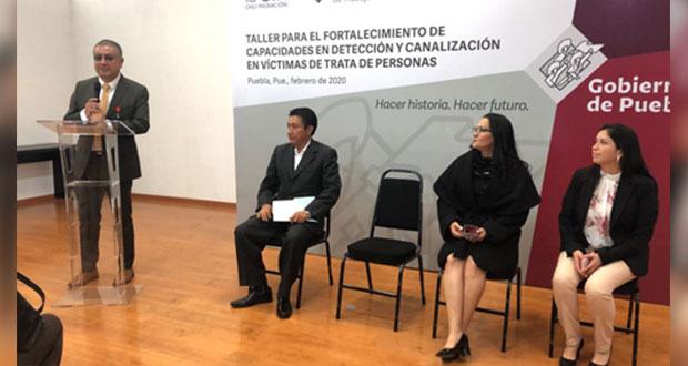 Puebla, comprometida a erradicar trata de personas: Cuéllar