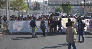 Acusan que marchas de BUAP son orquestadas por gente afín a Esparza