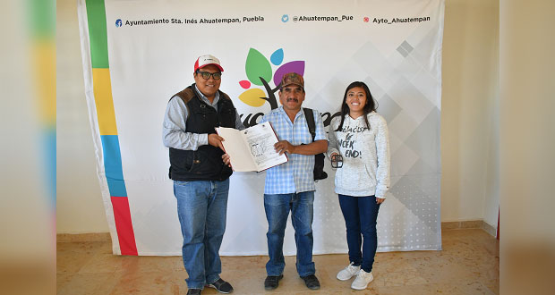 Ahuatempan apoya a ganaderos con registro de fierros marcadores
