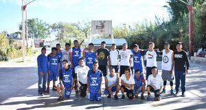 Promueven fraternidad en Ahuatempan con torneo de basquetbol
