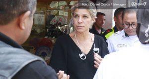 Tras acusaciones, Alejandra Rubio pide licencia como titular de Movilidad