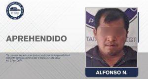 FGE captura a presunto responsable de violar a dos niñas en Acajete