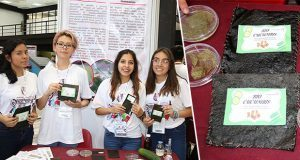 Alumnas del IPN crean bioplástico 100% degradable a base de pepino