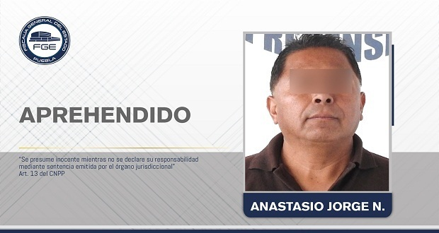 FGE detiene a maestro de canto acusado de abuso sexual a menor en Puebla