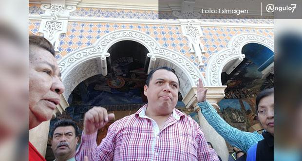 Caballero va a Tepjf por no dejarlo asumir como edil sustituto en Tehuacán