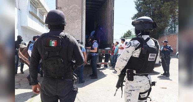 Aseguran mercancía ilegal en Villa Posadas; hay cuatro detenidos