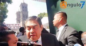 Barbosa afirma que no cederá a presiones de Antorcha Campesina