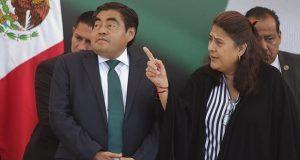 Se actuará contra responsables: Barbosa sobre revisión de cuenta pública