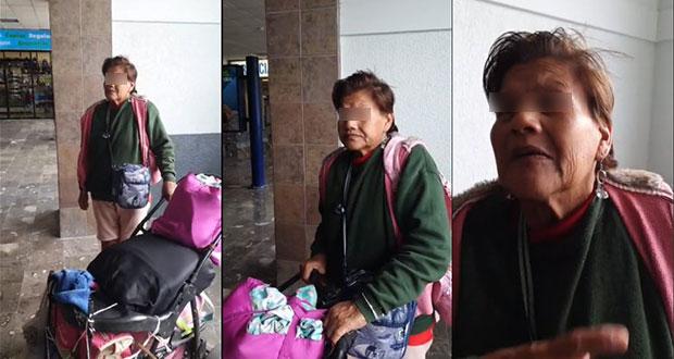 Estafadora, la mujer que presuntamente fue abandonada por su hija