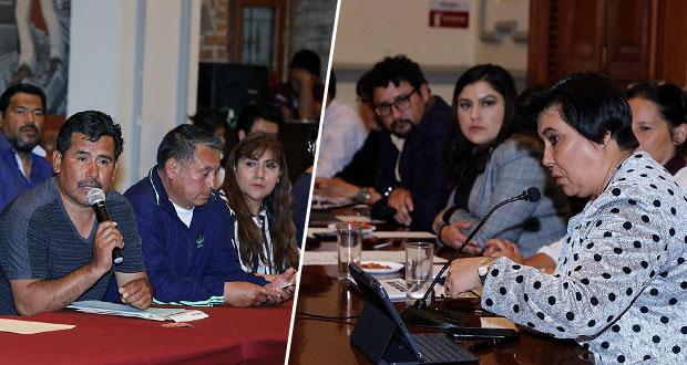 Claudia Rivera se reúne con 46 líderes de colonias de Puebla capital