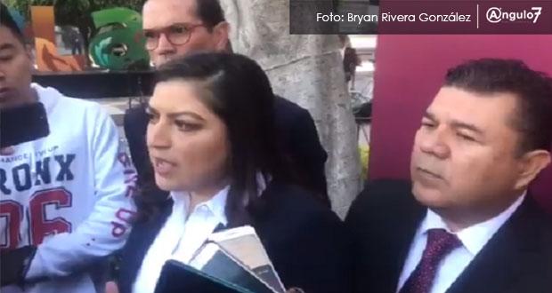 Claudia Rivera pedirá a Congreso crear Fiscalía de violencia de género