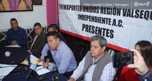 Concesionarios de Valsequillo no cumplirán; modernizan 400 de 2 mil unidades