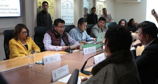 Congreso poblano elige a EMPO para dar mantenimiento a su sede por 16.5 mdp