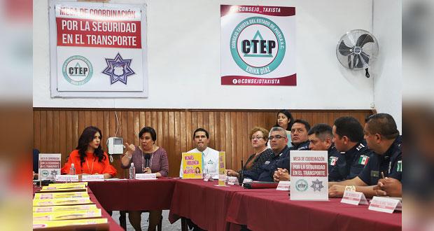 Mediante chat, Consejo Taxista de Puebla tendrá enlace con DERI
