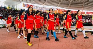 Delegación de Teziutlán buscan primeros lugares en Espartaqueada