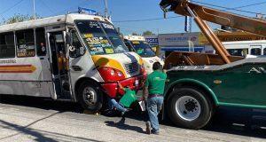 Detiene SMT 18 unidades del transporte público y mercantil