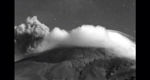 Disminuye actividad del Popocatépetl, reportan PC y Cenapred