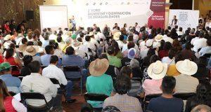En foro, Secretaría de Bienestar escucha propuestas ciudadanas