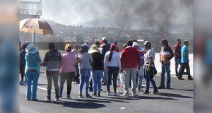 En la México-Puebla, exigen liberar a mujer que atropelló a su hija