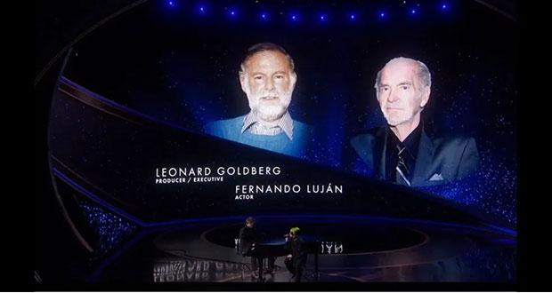En el In Memoriam de los Oscar 2020 recuerdan a Fernando Luján