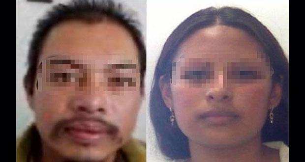 Giovana y Mario, los presuntos feminicidas de la niña Fátima