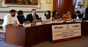 Comuna e Inegi crean comité para colaborar en el Censo Nacional 2020
