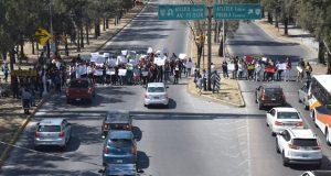 Ibero se suma a protesta por asesinato de estudiantes en Huejotzingo