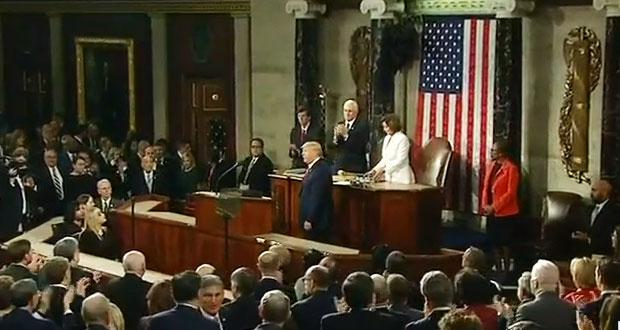 Impeachment a Trump se cae en Senado de EU; republicanos lo absuelven