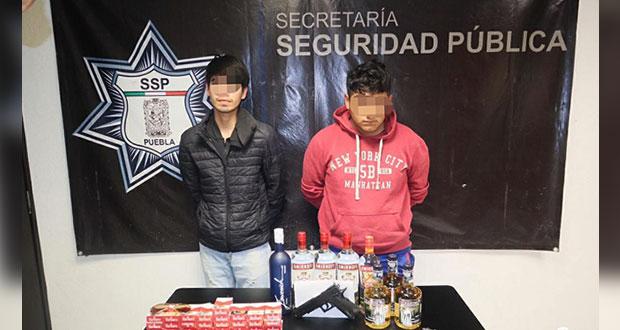 """Integrantes de la banda """"Los Matute"""" son capturados en Texmelucan"""