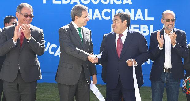 Invierte Federación 8 mmdp en escuelas dañadas; 35%, en Puebla