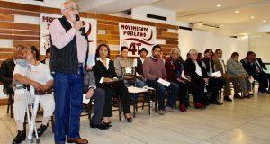 Surge Movimiento Poblano por la 4T, para apoyar a AMLO
