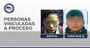 Vinculan a madre e hijo por homicidio y delitos contra la salud