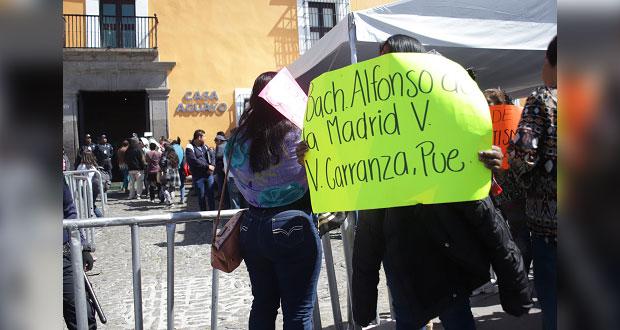 Piden destitución de maestra de bachillerato en Venustiano Carranza