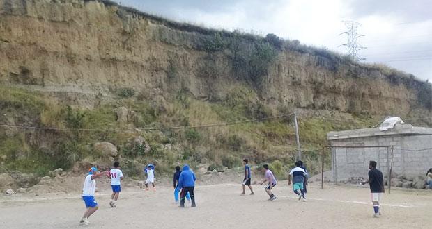 Realiza Antorcha torneo de futbol al norte de la ciudad