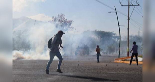 Reportan grave a normalista oriundo de Puebla herido por desalojo en Chiapas