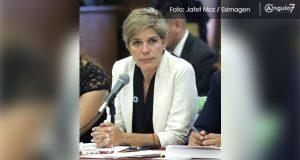Rivera respalda a Alejandra Rubio; licencia fue para preparar defensa, dice