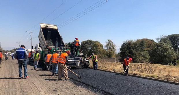 Supervisan rehabilitación de rutas de evacuación del Popocatépetl