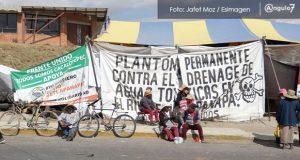 """Vecinos de Zacatepec informarán a AMLO sobre contaminación por """"Ciudad Textil"""""""