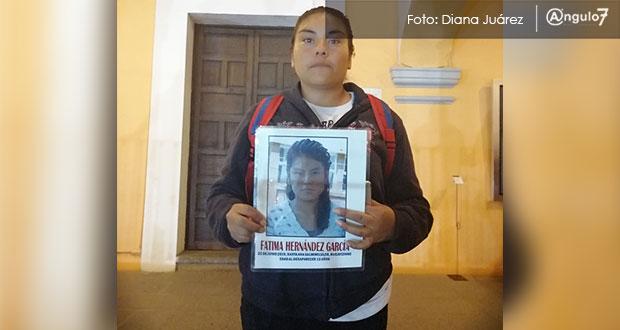 Mi hija es menor de edad: madre de Fátima, desaparecida hace más de 7 meses