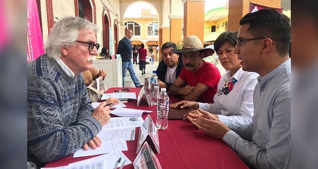 En Xicotepec, solicitan a gobierno estatal realizar tianguis semanal