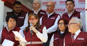 """Yeidckol """"abre"""" Morena a todo político; en NL e Hidalgo, a expriistas"""