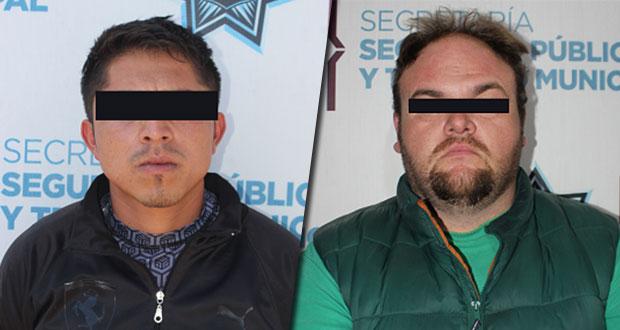 En diversas acciones, SSC detiene a dos por portación ilegal de arma