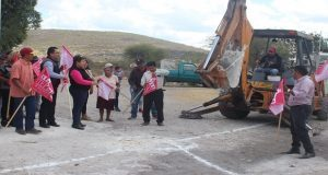 Comuna de Tepexi de Rodríguez inicia obras de alcantarillado
