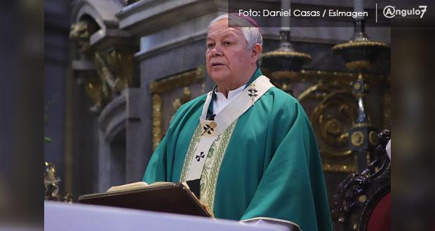 Preocupante, situación de feminicidios en Puebla y el país: arzobispo