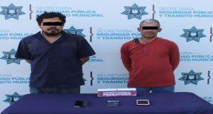 Detiene a dos hombres por robo a usuarios de la ruta Bulevares
