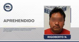 Fiscalía de Puebla aprehende a hombre por homicidio en Chautla