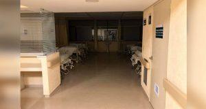Para la foto, las 60 camas incorporadas al IMSS de La Margarita, acusan