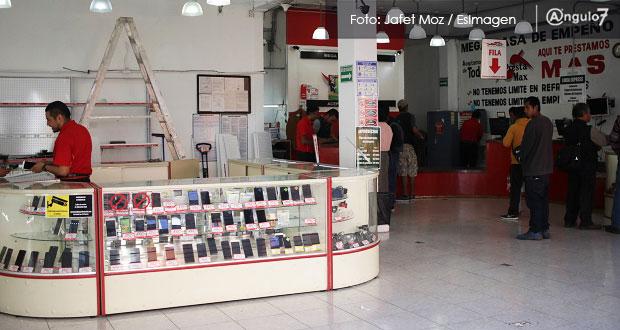 Tiendas empeño de Puebla deberán exigir factura de productos