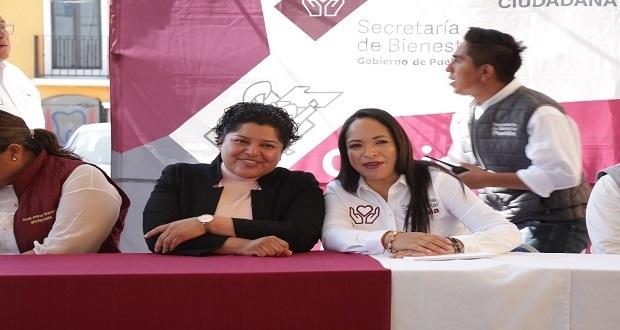 Karina Pérez pide a vecinos de San Andrés acercarse a Bienestar